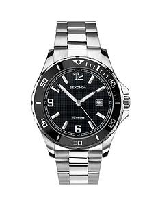 594d4fc73 Sekonda Mens Analogue Stainless Steel Bracelet Watch