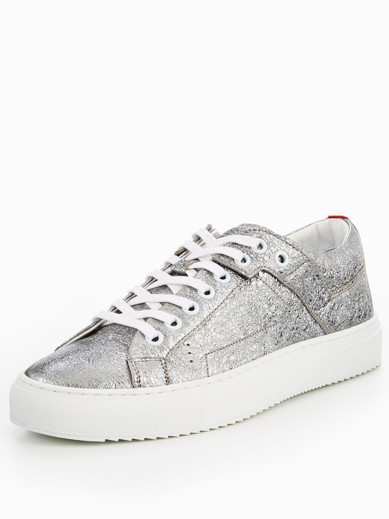HUGO BOSS Margaret-ft flatform plimsoll, Women