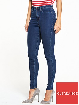 v-by-very-short-addison-high-waisted-super-skinny-jean-indigo