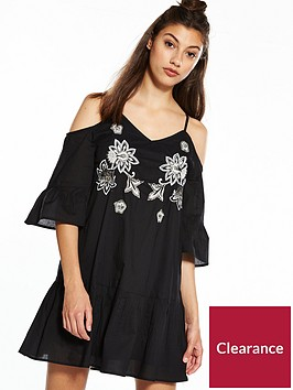 river-island-embroided-swing-dress
