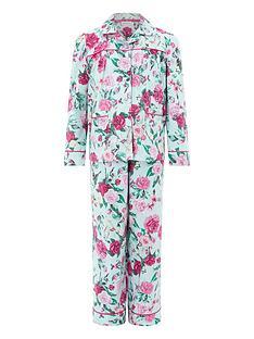 monsoon-florencia-rose-print-flannel-pyjamas