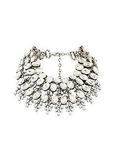 v-by-very-ottnbspstatement-tiered-necklace