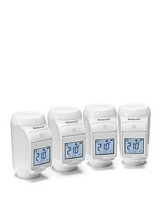 honeywell-honeywell-evohome-pack-of-4-thermostat-radiator-valves