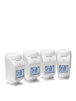 honeywell-honeywell-evohome-pack-of-4-thermostat-radiator-valves