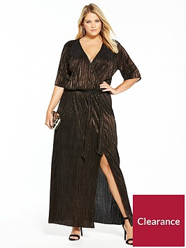 v-by-very-curve-plisse-maxi-dress