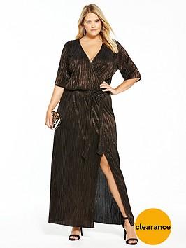 v-by-very-curve-plisse-maxi-dress
