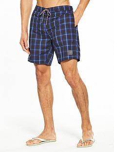 speedo-check-leisure-18-inch-water-shorts