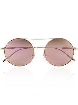 calvin-klein-rounded-aviator-mirror-sunglasses-rose