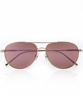 calvin-klein-aviator-mirror-lens-sunglasses-rose