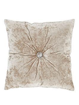 crushed-velvet-cushion