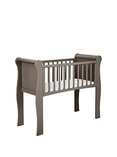 little-acorns-sleigh-crib-grey