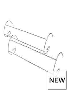 addis-chrome-radiator-airer-2-pack