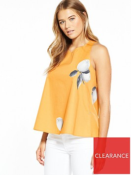 boss-lemon-print-ring-back-detail-top-orange