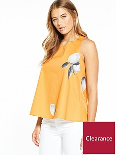 boss-lemon-print-ring-back-detail-top-orangenbsp