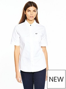 fred-perry-oxford-shirt-white