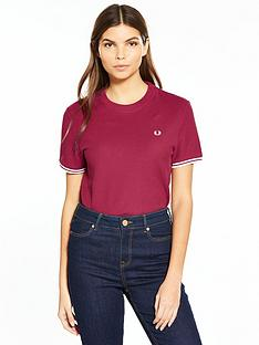 fred-perry-twin-tipped-t-shirt-claret