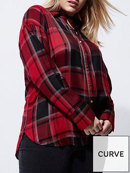 ri-plus-bow-back-check-shirt