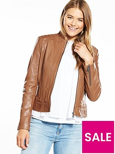 boss-orange-zip-detail-leather-jacket-tan