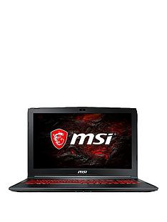 MSI GL62M 7RDX-1868UK Intel Core i5, 8Gb RAM, 1Tb Hard Drive, 15.6 inch FHD Gaming Laptop with GeForce GTX 1050 2Gb Graphics