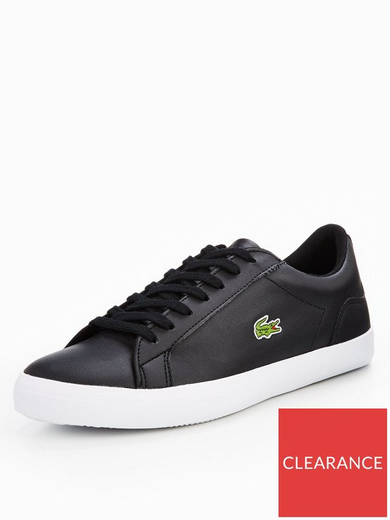 d9f22df4f Lacoste Lerond Bl 1 Cam Trainers