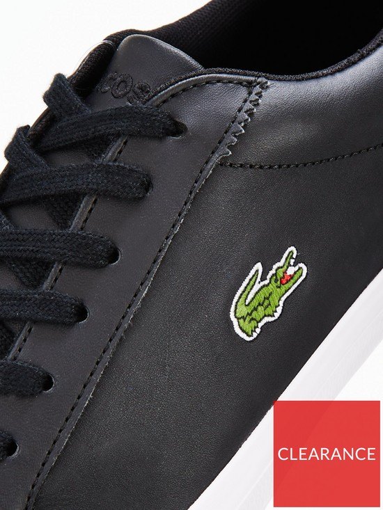 6388dbf91a8478 ... Lacoste Lerond Bl 1 Cam Trainers. View larger