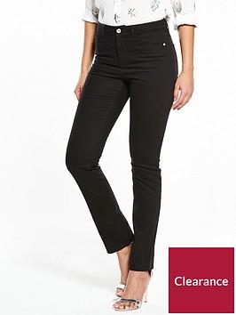 v-by-very-short-isabelle-high-rise-slim-leg-jeans-black