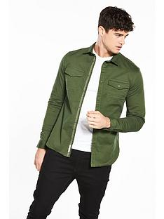 river-island-muscle-military-shirt