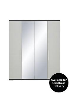consort-fern-4-door-mirrored-wardrobe