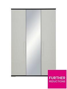 Consort Fern 3 Door Mirrored Wardrobe