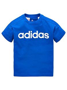adidas-younger-boy-linear-tee