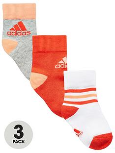 adidas-younger-girl-pk-3-ankle-socks