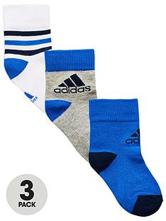 adidas-younger-boy-pk-3-ankle-socks