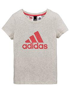 adidas-older-girl-logo-tee