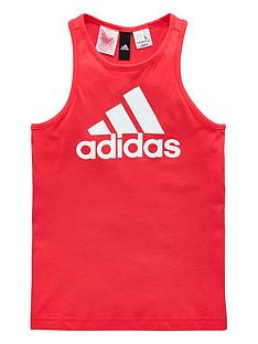 adidas-older-girl-logo-tank-top