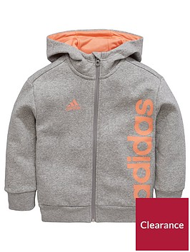 adidas-younger-girl-linear-full-zip-hoody