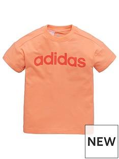 adidas-toddler-girl-linear-tee