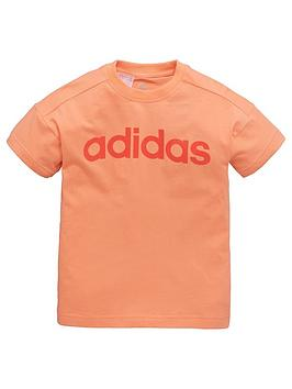 adidas-younger-girl-linear-tee