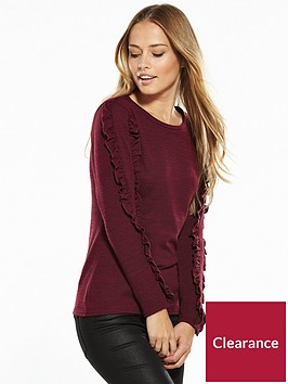 v-by-very-ruffle-sleeve-snit