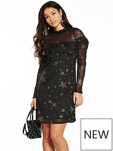 v-by-very-star-frill-dress