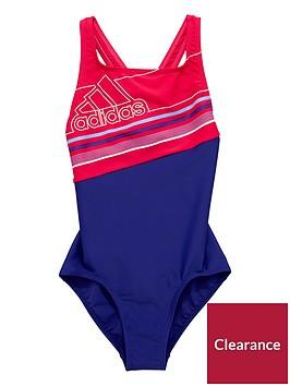 adidas-older-girl-block-swimsuit
