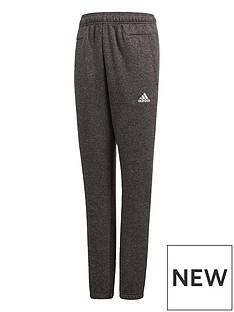adidas-adidas-older-boy-fleece-stadium-slim-leg-pant