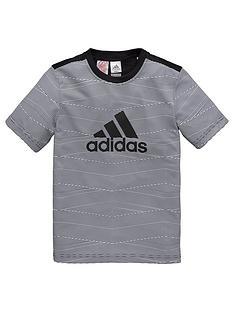 adidas-older-boy-patterned-training-tee