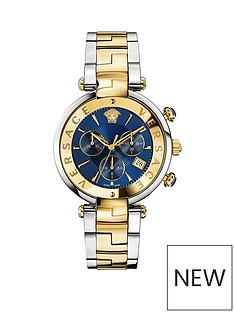 versace-revive-chronograph-blue-dial-two-tone-braceletnbspwatch