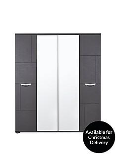 consort-eva-4-door-mirrored-wardrobe