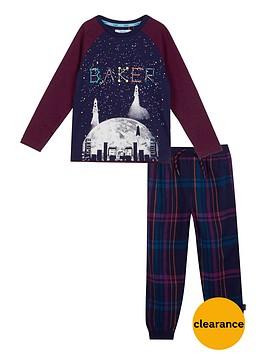 baker-by-ted-baker-boys039-navy-constellation-print-glow-in-the-dark-pyjama-set