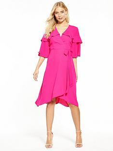 v-by-very-hanky-hem-frill-midi-dress