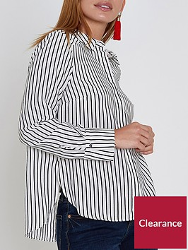 ri-petite-striped-bow-back-shirt