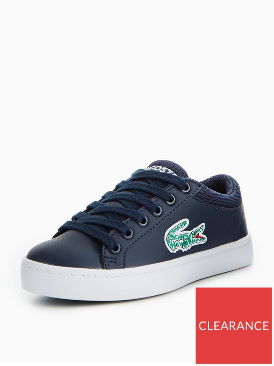 7f9354f03 Lacoste Straightset Lace 118 1 Trainer