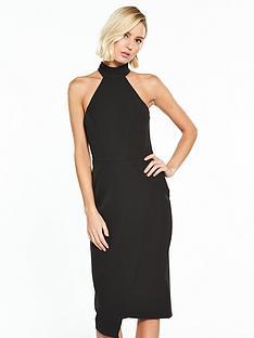 river-island-black-halterneck-dress