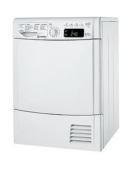 indesit-ecotime-idpe845a1eco-8kg-heat-pump-condenser-sensor-dryer-white